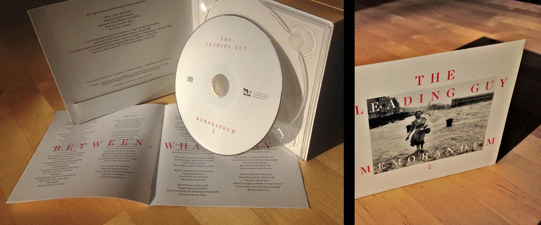 The Leading Guy, Memorandum, CD, Lady Lovely, BandCamp, merchandise