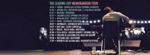 The Leading Guy - Memorandum Tour 2016